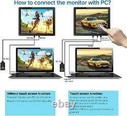 12.3 IPS Touchscreen Industry Portable Monitor Laptop 1600x1200 LCD Screen Used