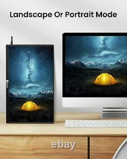 15.6 1080P Portable Monitor Monitor Dual Speakers