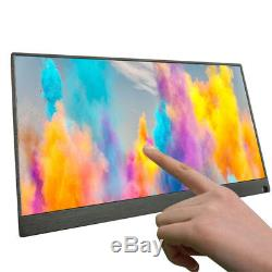 15.6 Inch IPS Touch Screen Use Portable Monitor Laptop 1920 1080P LCD Screen