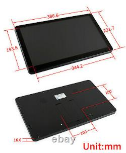 15.6inch IPS Touch Screen LCD HDMI/VGA Supports RPI Desktop Windows 10/8.1/8/7