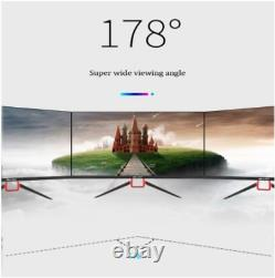 24 inch LED/LCD Ultra-thin Compute Curved Screen Monitor PC 75Hz HD Gaming HDMI