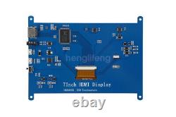 7 Capacitive Touch Screen USB HDMI IPS TFT LCD Display 1024600 Raspberry Pi