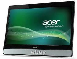 Acer 19.5 Touchscreen Monitor 5ms 1600 x 900 pixels LED Black Silver Speakers