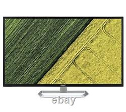 Acer 32 Widescreen IPS LCD Monitor Black