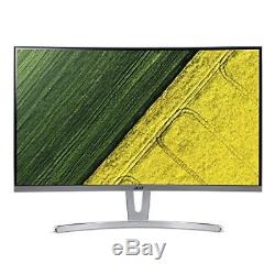 Acer ED273 27 Curved LCD Monitor Silver (UM. HE3AA. 001)