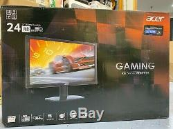 Acer KG240 Abmjdpx 24 169 LCD Gaming Monitor with Freesync, 1ms, 144hz, Full HD