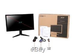Acer KG series KG221Q 21.5 1ms (GTG) AMD FreeSync Widescreen LCD/LED Gaming Mon