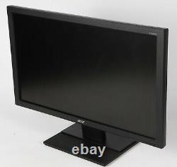 Acer V246HQL 24 Full HD Widescreen LCD Monitor with Stand, Power cable, DVI cable