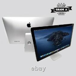 Apple 27 Inch Display Lcd Widescreen Monitor A1407 Thunderbolt 2560x1440 Screen