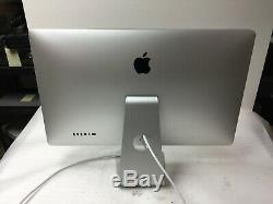 Apple A1407 Thunderbolt display 27 LCD Monitor PLEASE SEE PICTURES
