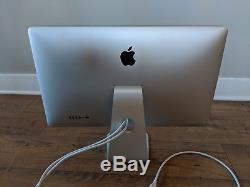 Apple Thunderbolt A1407 27 Widescreen LCD Monitor with built-in speakers