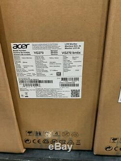 Brand New Acer Nitro 27 FHD IPS LCD Gaming Monitor VG270 1ms Response