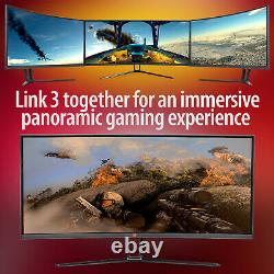 Deco Gear 35 Curved Ultrawide LED Gaming Monitor 3440X1440 100Hz (LG-34-HP)