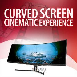 Deco Gear 43 Curved Ultrawide LED 3840x1200 3210 120Hz FreeSync 4ms Gaming Mon
