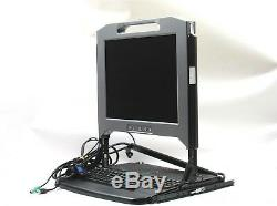 Dell FY452 17FP 1U KMM Server Rack Console 17 LCD with Cables