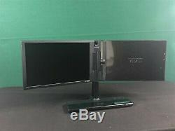 EVGA Dual Wide Screen InterView 1700 LCD Monitor Webcam Multiple Configuration