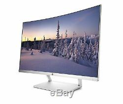 HP 27 Curved 1080p Full HD FHD 60Hz LCD WLED Monitor HDMI HP27SC1 Z4N74AA#ABA