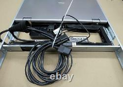 HP LCD8500 1U Rackmount Console Kit KMM monitor display keyboard touchpad AF644A
