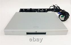 HP TFT7600 17 Rackmount LCD Monitor Keyboard Mouse With Cable Arm + AC No Rails