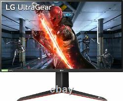 LG UltraGear 27 IPS LED QHD FreeSync and G-SYNC Compatible Monitor with HD