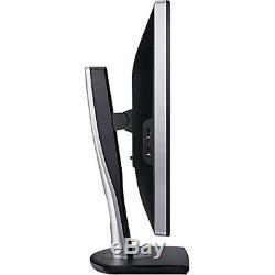Lot of 4 Dell UltraSharp U2412M 24 inch LCD Monitor with Stand, Power Cable, VGA