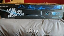 Mint Samsung LC49RG90SSNXZA 49 5120 X 1440 Curved LCD Gaming Monitor