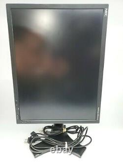 NEC MultiSync LCD2190UXP-BK 21.5 Professional Grade Monitor + Stand & Cables