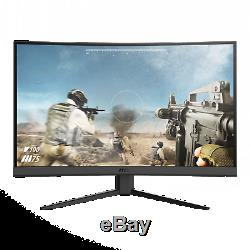 NEW MSI 27 Curved 1920x1080 HDMI DP 165Hz 1ms FreeSync LCD Gaming Monitor