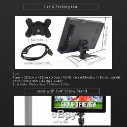 New 10 Inch FHD IPS 1080P HDMI LCD Display Screen 1920x1080 For Raspberry Pi