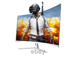 New Curved 32 inch 75hz Gaming PC Monitor HD LED Curved Monitor for computer
