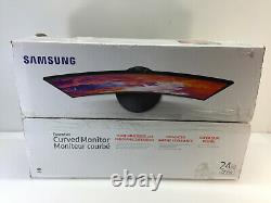 Samsung CF392 24 inch 1080p Curved LED Monitor LC24F392