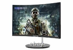 Sceptre 24 Curved 75Hz Gaming LED Monitor Full HD 1080P HDMI VGA Speakers VE