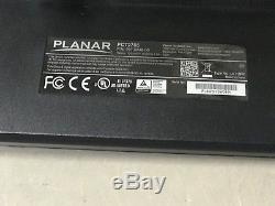 Used Planar PCT2785 LED LCD Widescreen Multi-Touch Monitor
